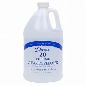 20 Volume Clear Developer Gallon