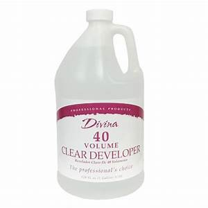 40 Volume Clear Peroxide Gallon