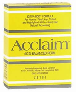 Zotos Acclaim  Acid Perm