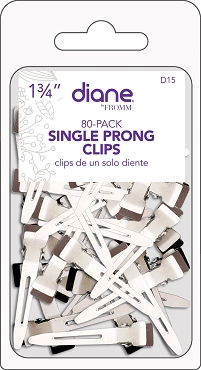 D15 Diane Single Prong Clips