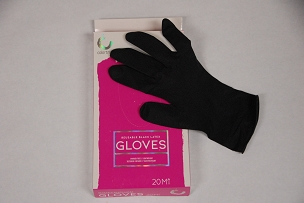 Colortrak Reusable Black Latex Glove